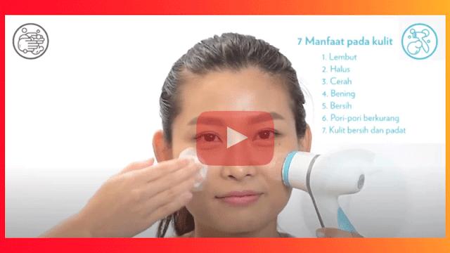video cara menggunakan lumispa nu skin di youtube pontianak