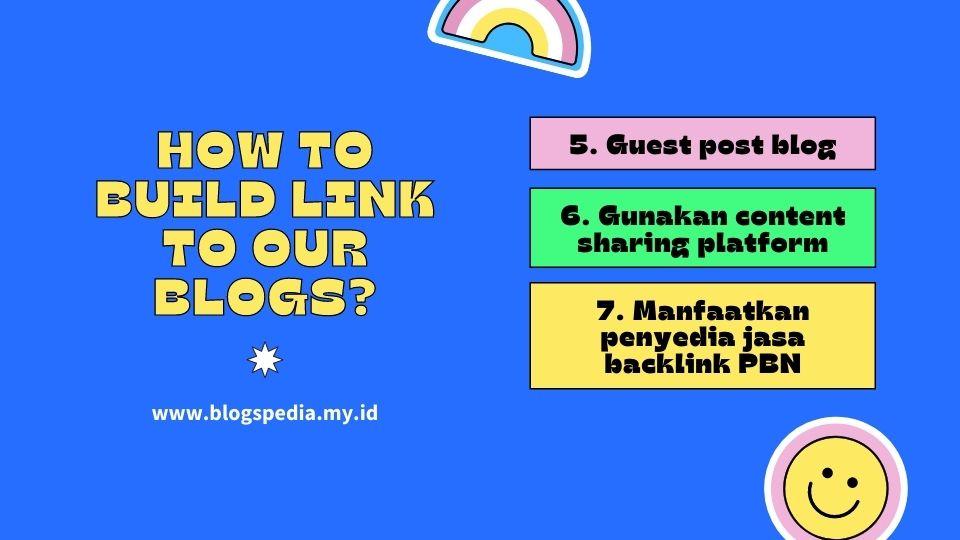 membangun link untuk blog