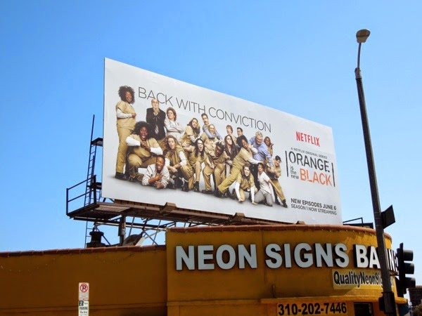 Orange is the New Black season 2 billboard