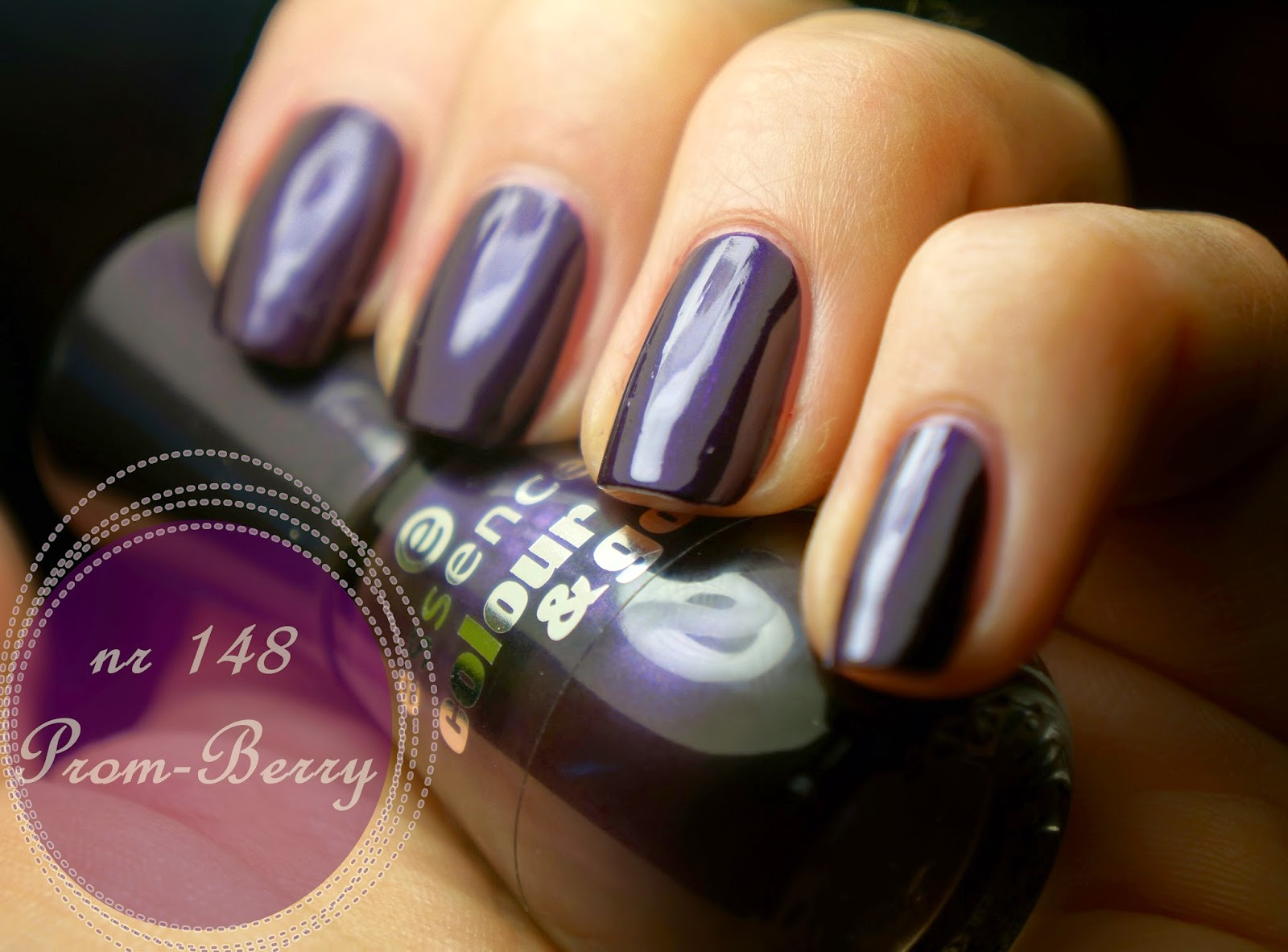 Essence colour&go 148 Prom-berry, czyli drogi kolor w taniej butelce