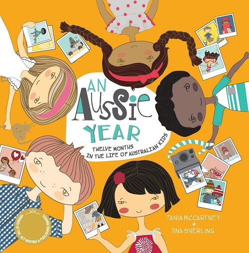 kids picture book an aussie year by tania mccartney