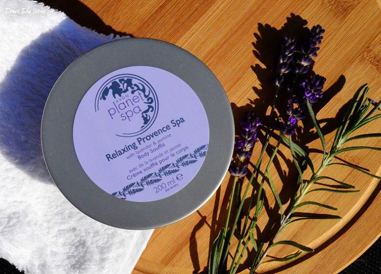 Nawilżająco-relaksujący mus do ciała Relaxing Provence Planet Spa recenzja