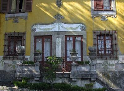 fachada da casa do Parque de São Roque