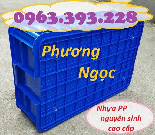 Thùng nhựa đặc HS003, sóng nhựa bít HS003, khay nhựa công nghiệp, T%25C4%2590194