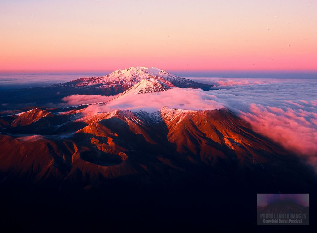 Tongariro Mountains at Sunrise