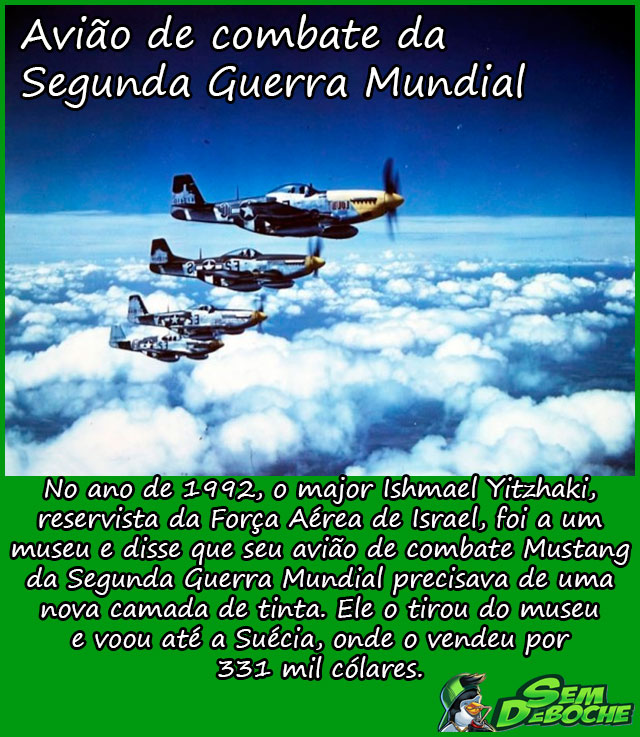 Avião de combate da Segunda Guerra Mundial