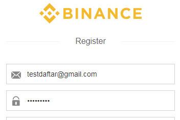 Cara daftar binance trading bitcoin