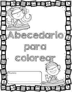 Abecedario Para Colorear Para Preescolar Y Primaria