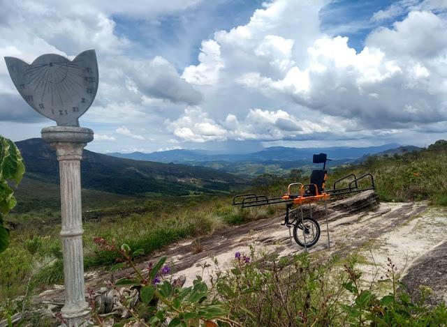 Parque Estadual de Ibitipoca inaugura cadeiras de rodas adaptadas para visitação de deficientes
