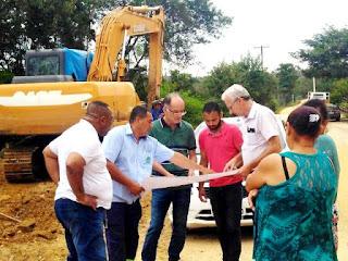 Obra de drenagem no Bairro Capinzal está na segunda fase