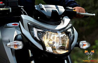 TVS Apache RTR200 4V head light