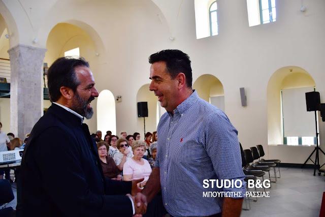 Συνάντηση του Δημάρχου Ναυπλιέων Δ. Κωστούρου με τον Μητροπολίτη Καμερούν Γρηγόριο