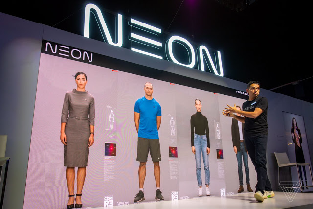 Samsung to reveal its artificial human lifelike neon project Article