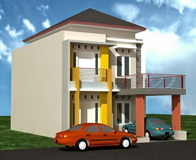 2 Floor House Design Type 60