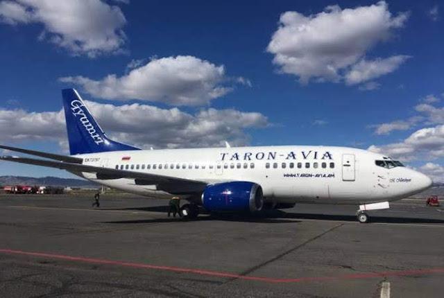 Revocan licencia de Taron-Avia para operar en Armenia