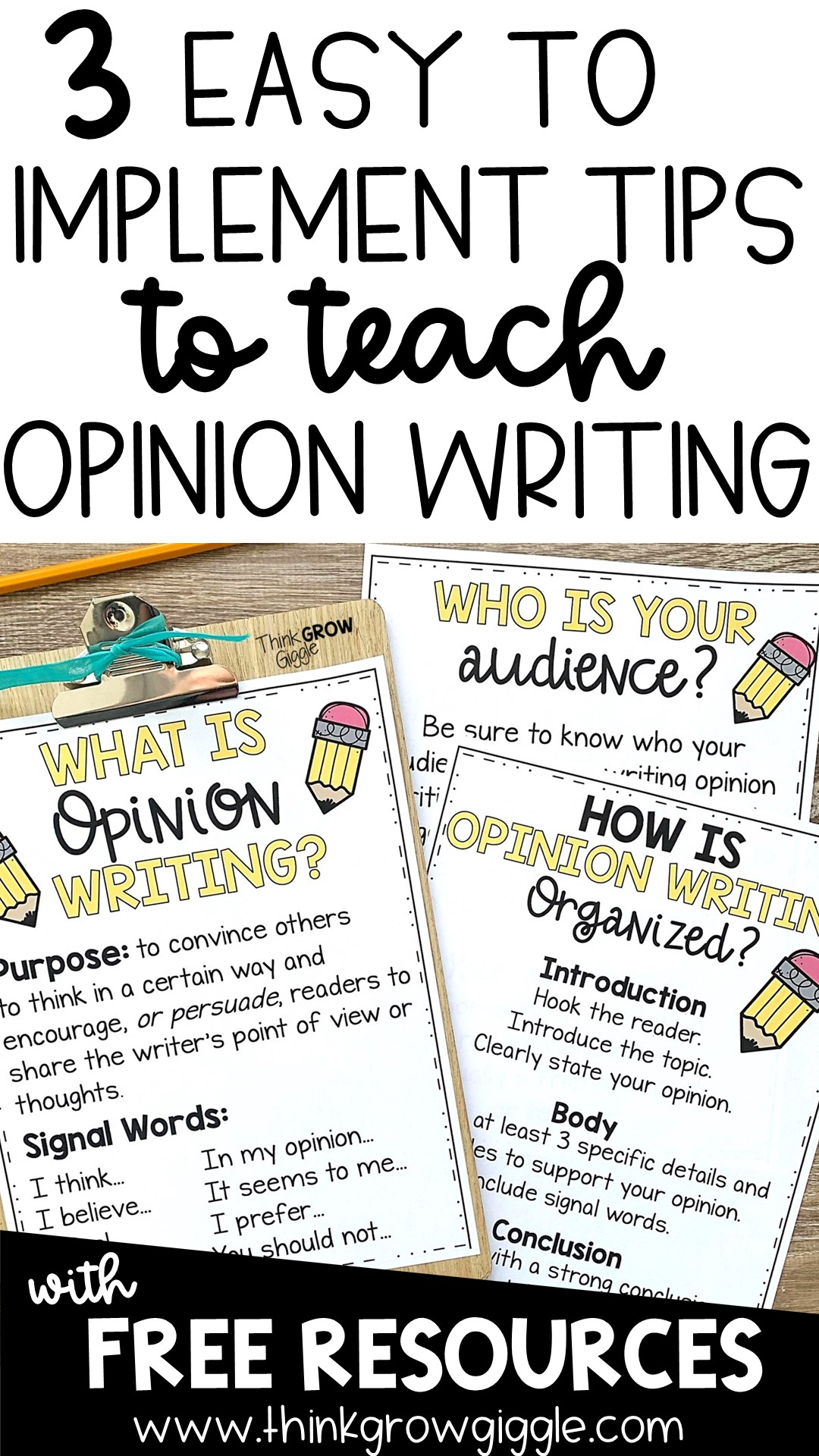 opinion writing activities for upper elementary students