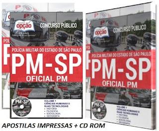 Apostila Polícia Militar de São Paulo - Concurso Aluno-Oficial PM-SP