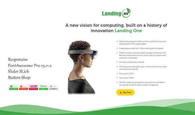 Website Landingpage