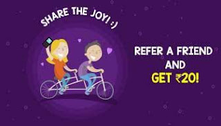 Mobikwik App Refer a friend & earn Rs 20 in your MobiKwik wallet