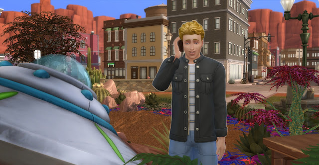 Стрейнджервилль: когда падают тарелки... - челлендж The Sims 4