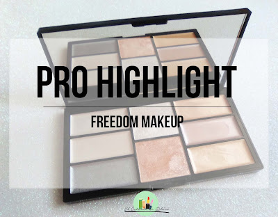 Paleta de iluminadores Pro Highlight | Freedom Makeup | Review | El Estante de Rhiri
