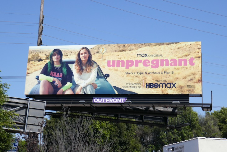 Unpregnant movie billboard