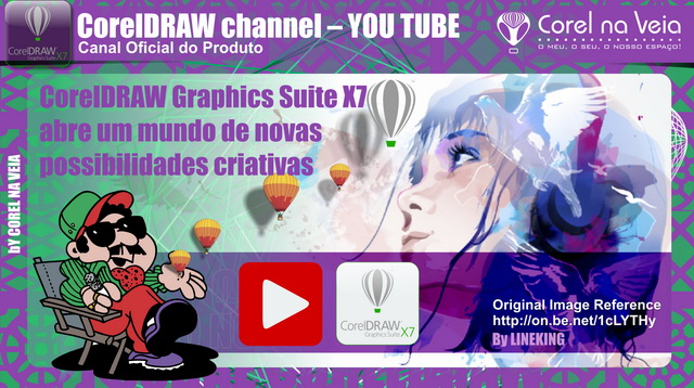 CorelDRAW Channel no YOUTUBE