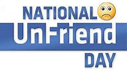 National Unfriend Day Wishes Images download