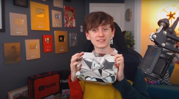 Youtuber engaño a Youtube y obtuvo el botón de diamante
