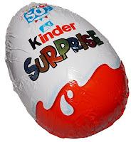 The Kinder Egg's packaging is familiar the world over