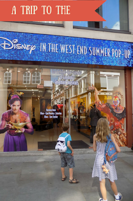 A trip to Disney in the West End summer Pop-Up