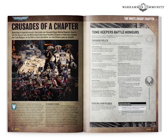 White Dwarf 465  tome keepers