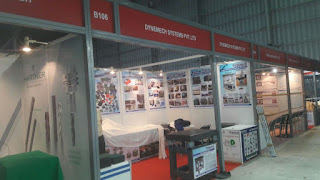 Exhibition - Dynemech Anti-Vibration Mountings and Vibration Damping Solutions at International Metal Cutting Machine Tool   Exhibition IMTEX 2017 Bangalore International Exhibition Centre. We are pleased to announce the IMTEX 2017. machine tools industry, Dynemech Systems offers an ideal solution in Anti Vibration Pad. Dynemech Systems manufactures world-renowned anti-vibration pads for various industrial machinery. Dynemech's Anti Vibration Pads are widely used in: Refrigeration Plants, Compressors, Conveyors, Air Conditioning Plants, Diesel Generators, Fans, Motors, Power / Impact Presses, Pumps, CNC Machines etc.