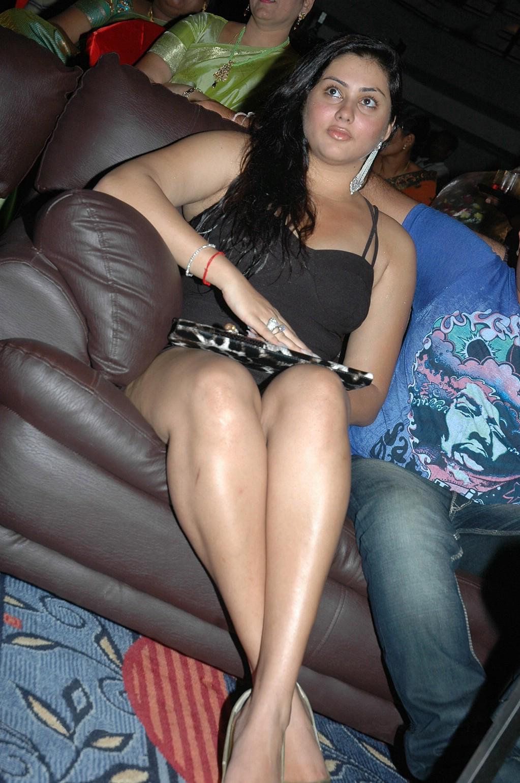 Namitha Thunder Thighs Eye Catching At Simha Movie 50 Days Celebration