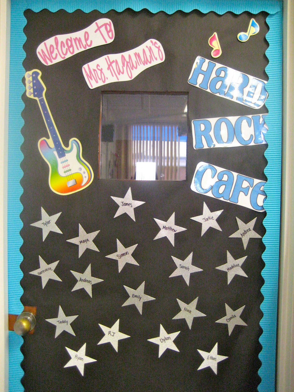 Rock And Roll Themed Room Let 39s Get Fancy In First Classroom Tour