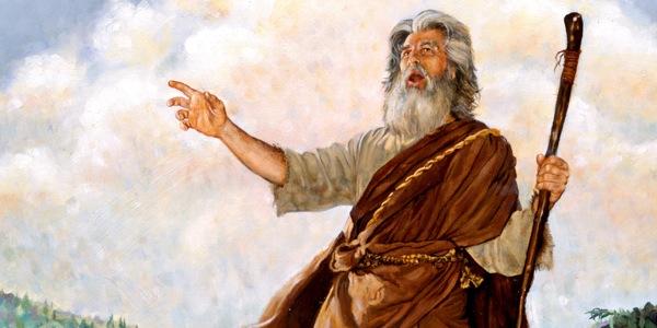 Profeta Amós - Ilustração