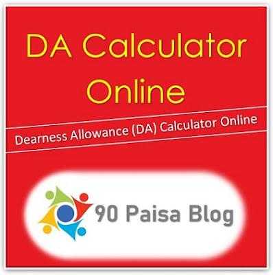 Online DA calculator