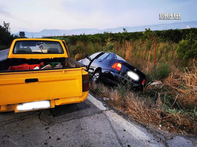 Σοβαρό τροχαίο ατύχημα με τραυματία μικρό παιδί στην Αργολίδα