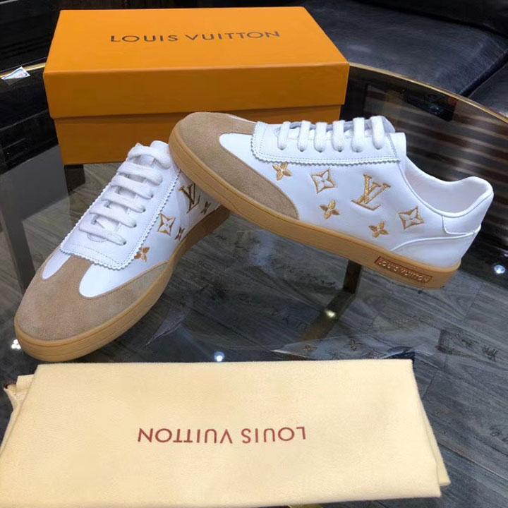 Mẫu giày Louis Vuitton nam buộc dây hàng hiệu siêu cấp like auth