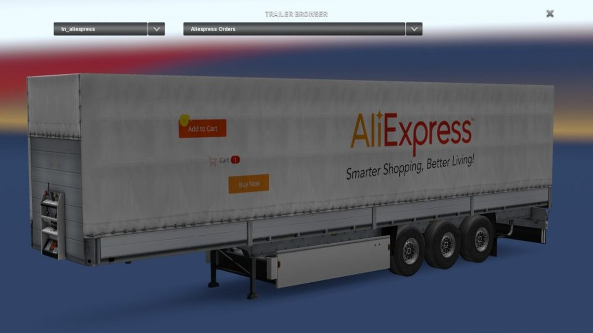 Standalone Ali Express Trailer