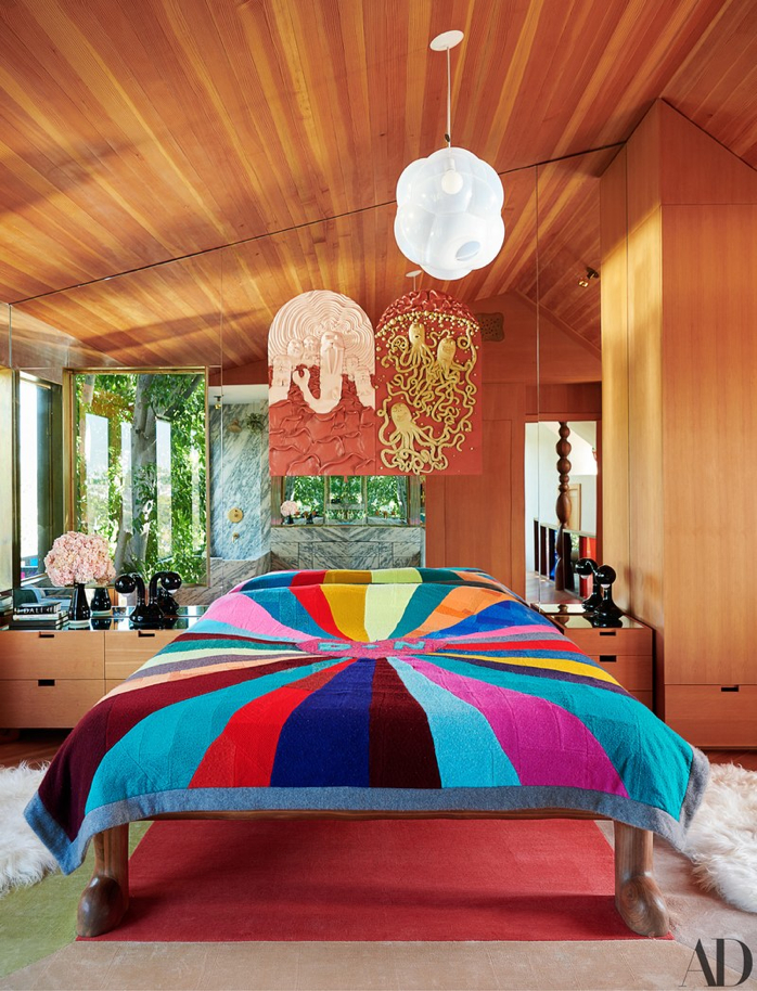 This Los Angeles Home is Brimming with Whimsy and Color- design addict mom- photography-Jason Schmidt