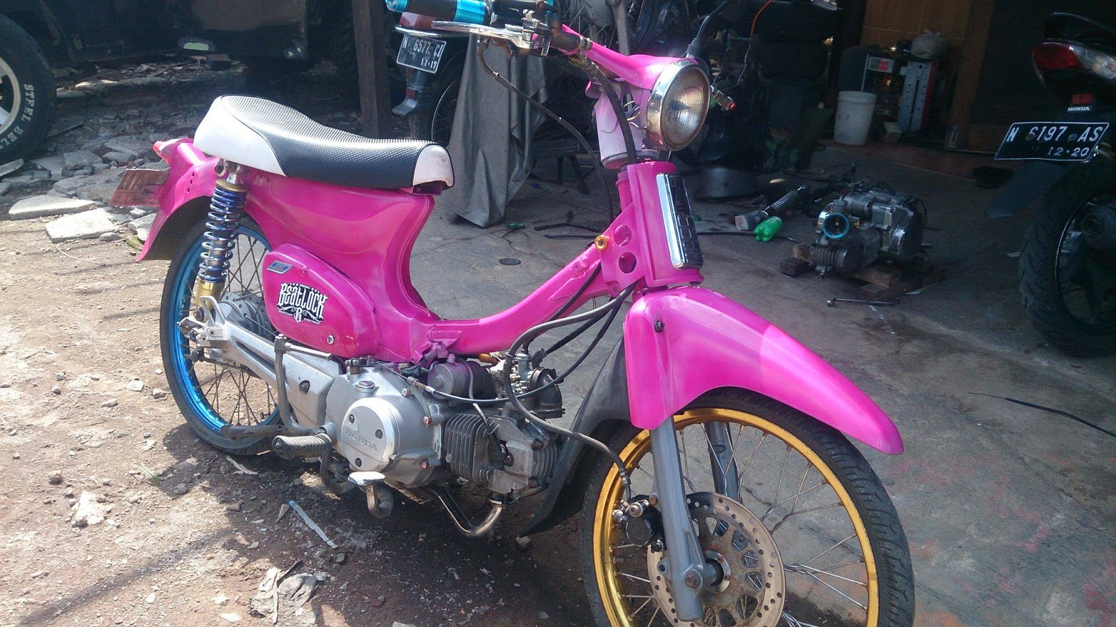 91 Foto Modifikasi Motor Kirana TeaModifikasi