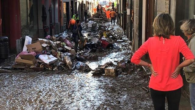 Ένας νεκρός και πολλοί αγνοούμενοι από πλημμύρες σε Γαλλία και Ιταλία