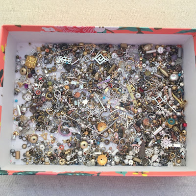 Boss' Bead Bag findings from Fire Mountain Gems