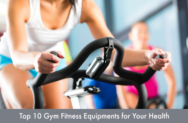 Top 10 Gym Fitness Equipments for Your Health