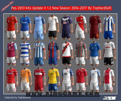 Update Kits PES 2013 Musim 2016/2017