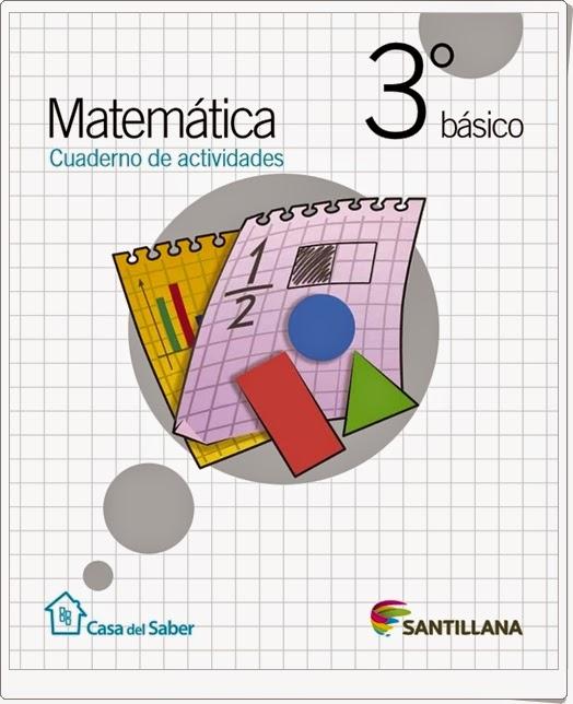 """""""Cuaderno de Matemáticas"""" (3º de Primaria. Santillana)"""