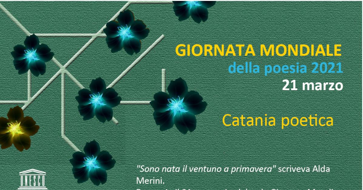 Giornata della Poesia Catania poetica