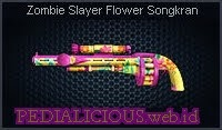 Zombie Slayer Flower Songkran