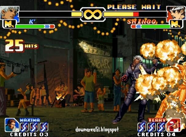 K  Super Move KOF 1999
